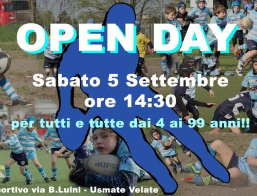 Open Day al Velate Rugby !