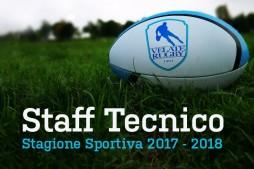 Lo Staff Tecnico per la stagione 2017-2018