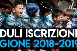Moduli iscrizione stagione 2018 – 2019
