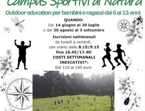 Sportivi di … Natura, il Campus del VR81