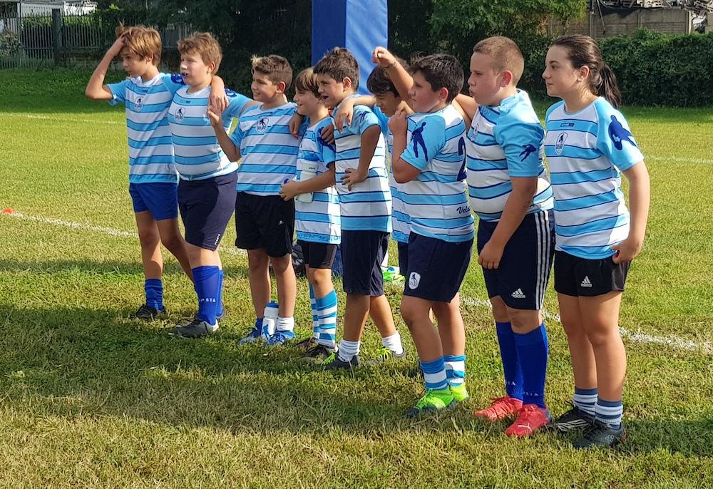 Allenamento congiunto U13 VR81- Cernusco Rugby