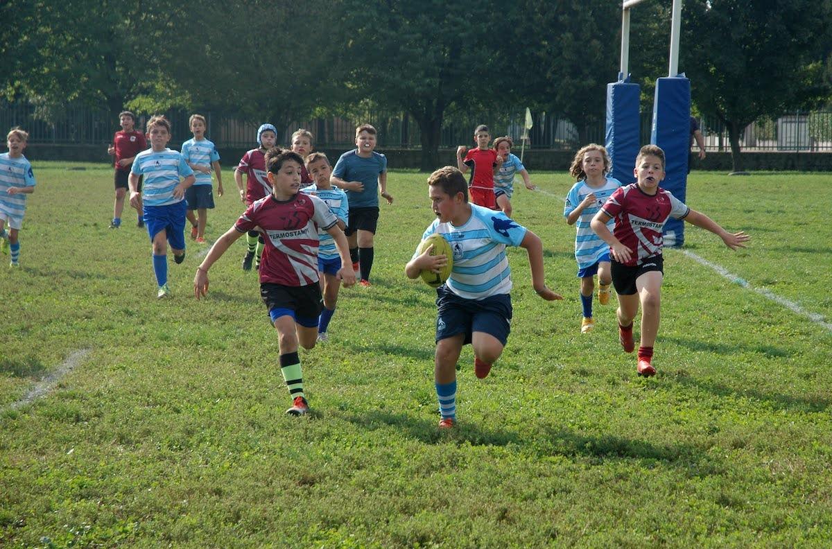 Allenamento congiunto U11 VR81- Cernusco Rugby